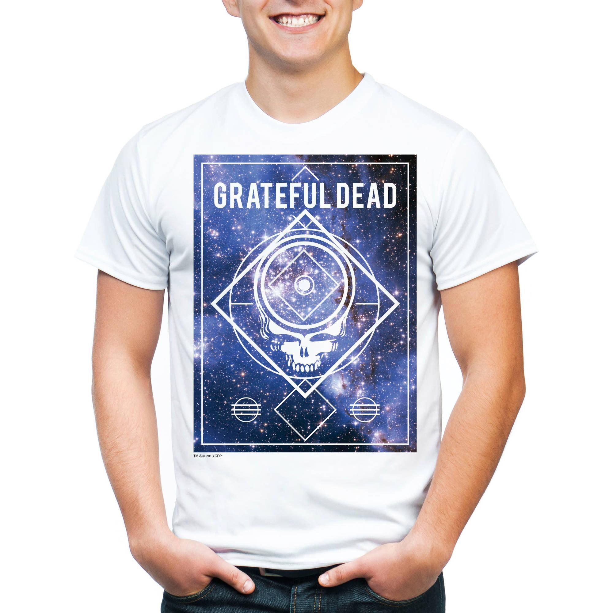 Rhino Entertainment Greatful Dead Men's Graphic Short Sleeve T-Shirt