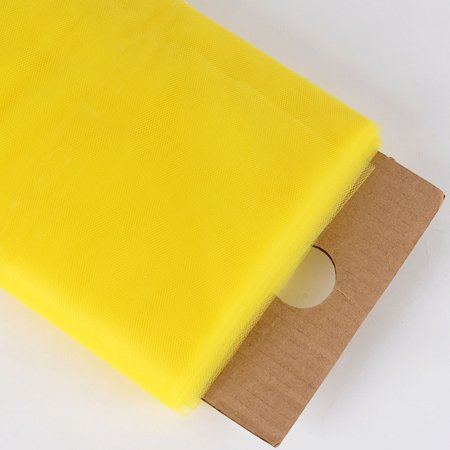 Yellow - 54 Inch Premium Tulle Fabric Bolt ( W: 54 inch | L: 40 Yards ) Yellow Toile Fabric