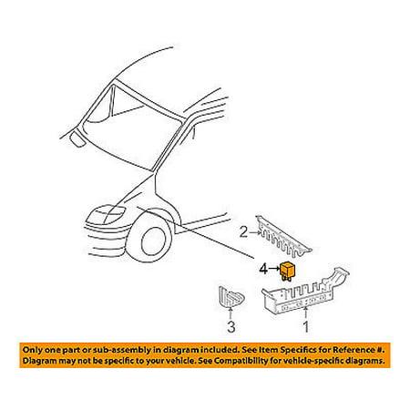 Dodge CHRYSLER OEM 07-09 Sprinter 3500 Fuse Relay-Fuel Pump Relay -