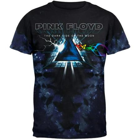 Pink Floyd - Dark Side Vortex Tie Dye T-Shirt