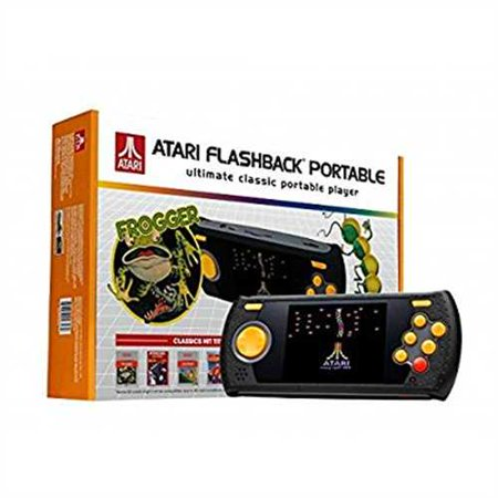 Refurbished Atgames Atari Flashback Ultimate Portable Game Player With 60 Built In Games