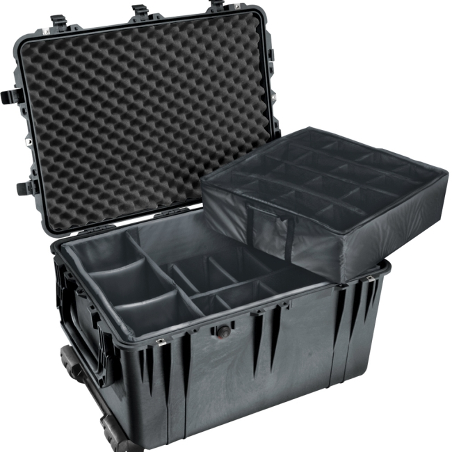 PELICAN PRODUCTS-PHOTO VIDEO PELICAN PRODUCTS- CASES             1660-021-110         1660NF HARD CASE BLACK