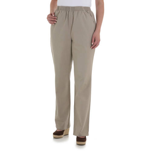Chic Women's Pull-On Pant Available in Regular and Petite