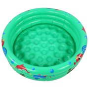 Spptty Round Inflatable Baby Toddlers Swimming Pool Portable Inflatable Children Little Green Pool Home Indoor Outdoor for Kids Girl Boy