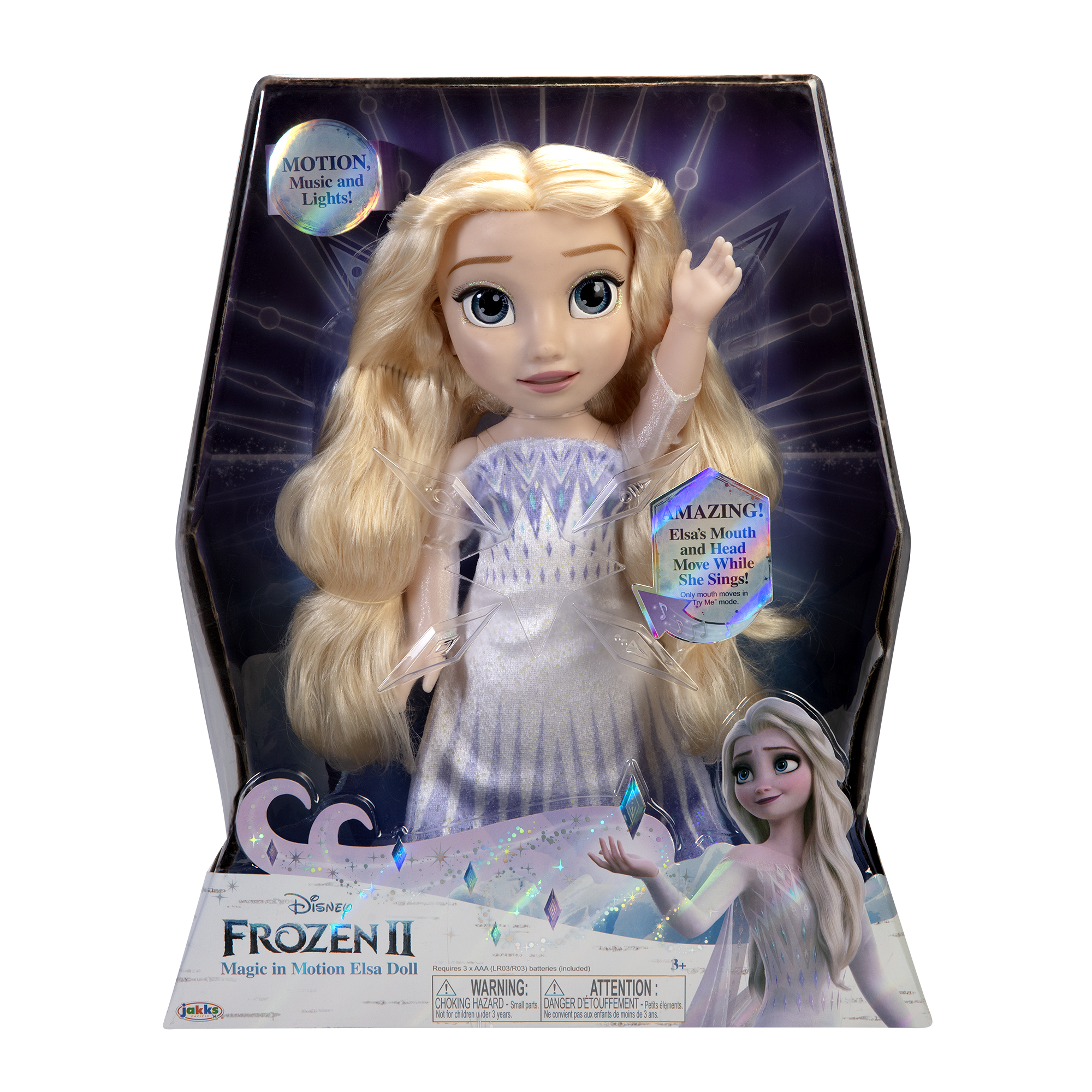 Disney Frozen 2 Magic in Motion Singing Elsa Doll