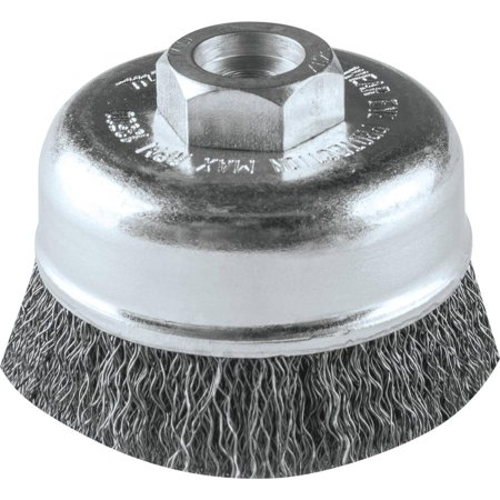 Makita-A-98382 3in. Crimped Wire Cup Brush, M10 x 1.25 Crimped Wire Cup Brush