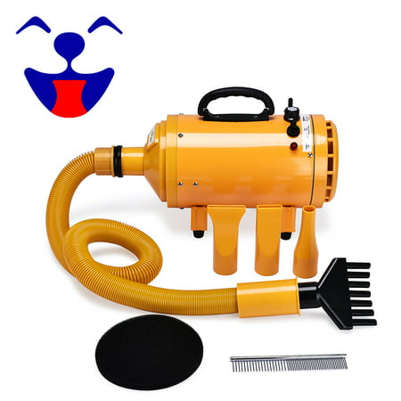 Free Paws 4HP Pet Grooming Hair Dryer for Dog Cat - Adjustable Speed CVT ()