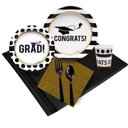 Cheap Graduation Party Ideas (Graduation Party Pack for 32)