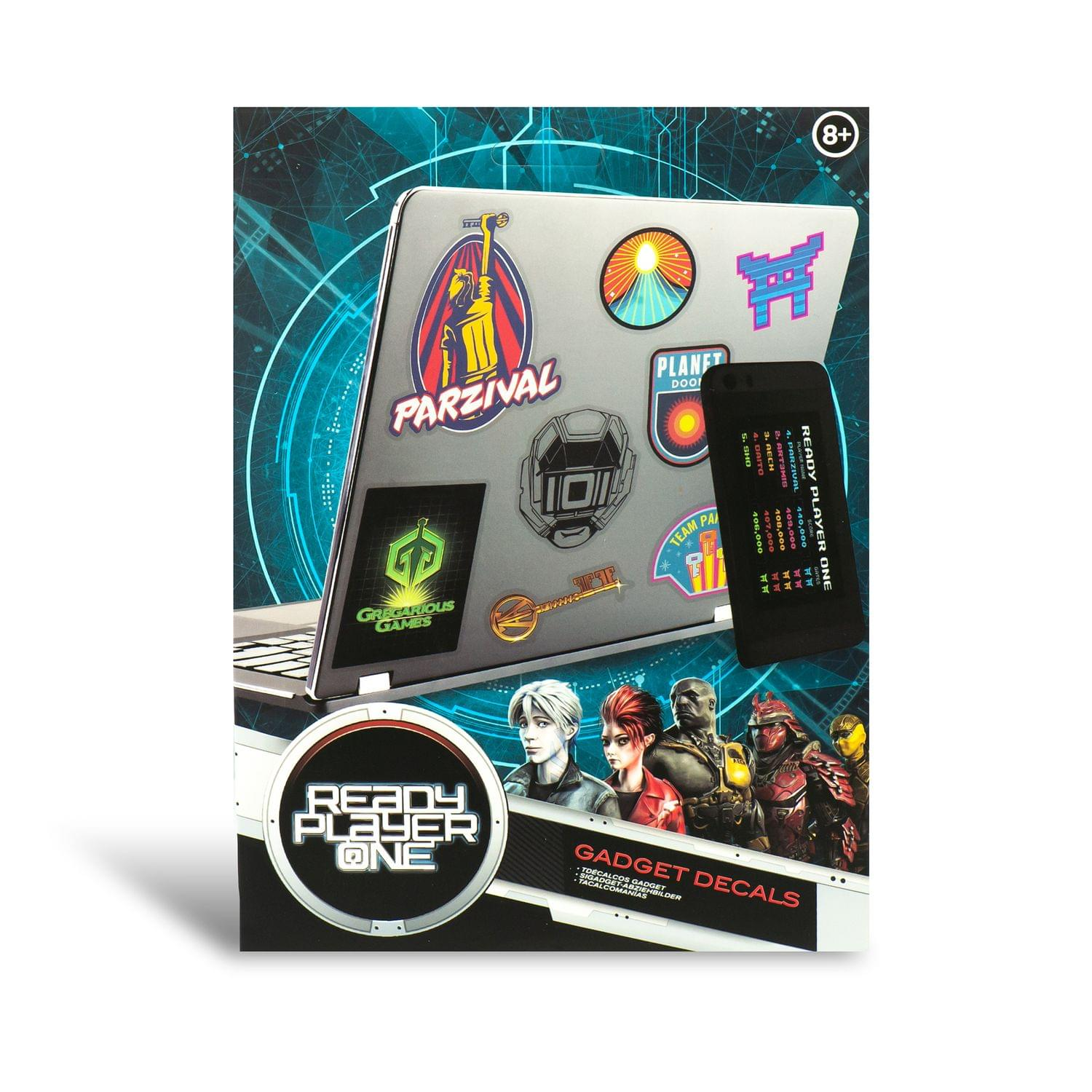 Ready Player One Vinyl Gadget Decal Sticker Pack - image 1 of 1