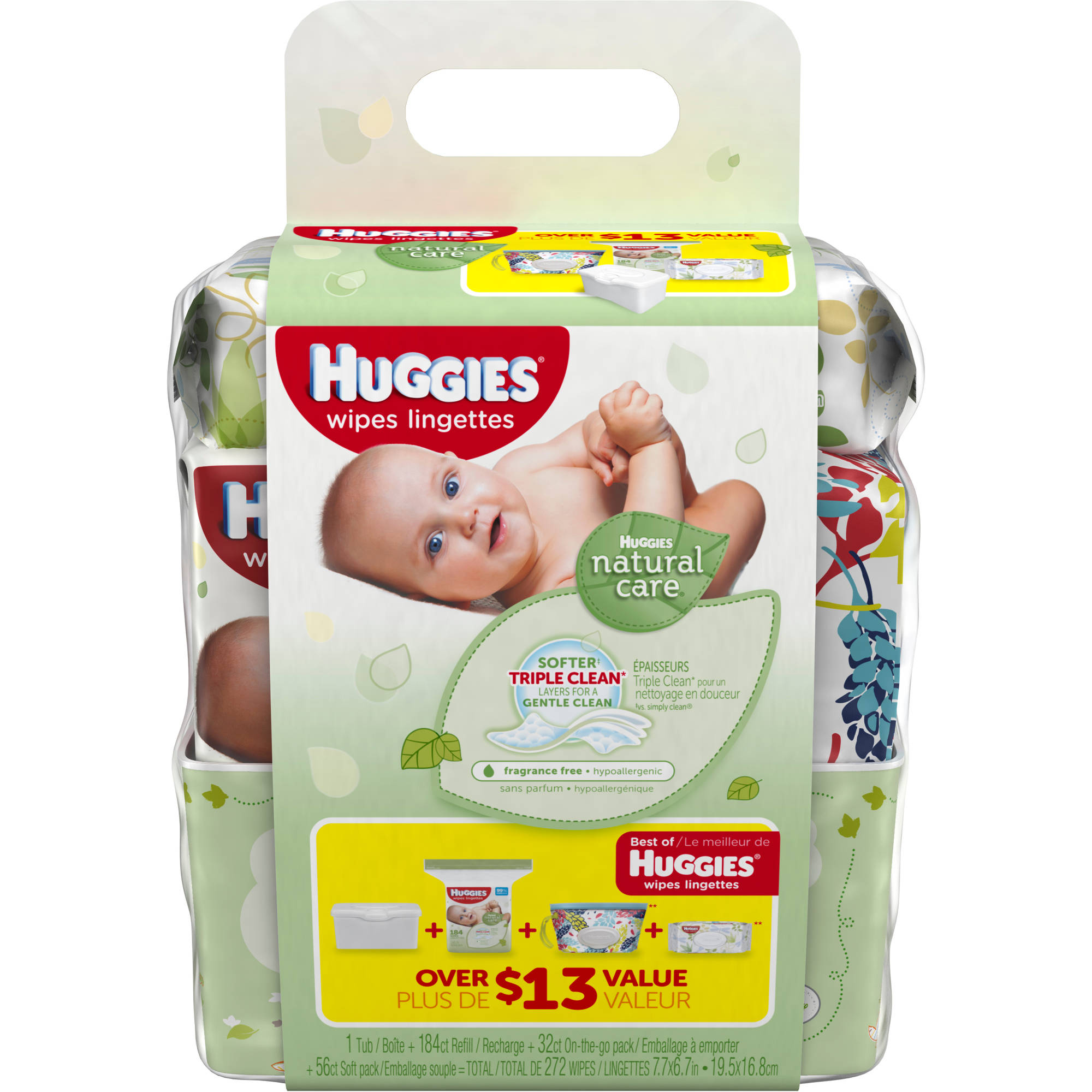 Huggies Natural Care Baby Wipes Refill Walmart