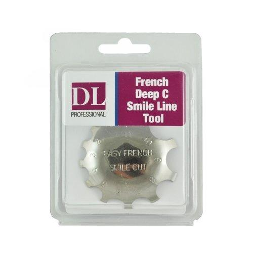 DL Professional Deep C Smile Line Cutting French Tool, DL-C311
