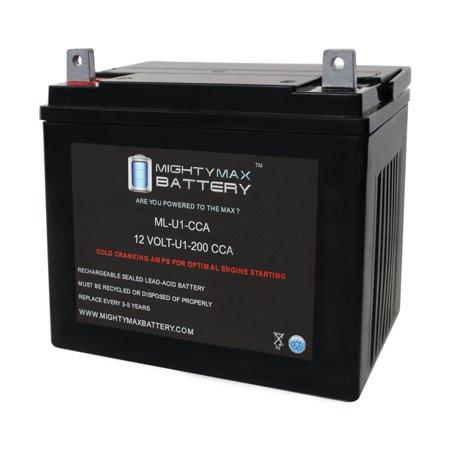 Ml U1 200cca Battery For Hustler Fastrak Zero Turn Lawn