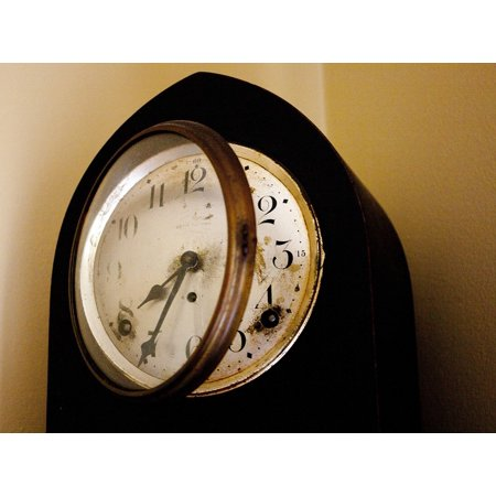 Canvas Print Hour Hours Clock Minute Time Second Alarm Stretched Canvas 10 x