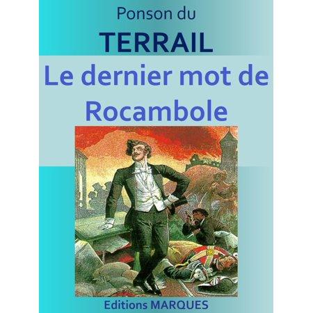 Le dernier mot de Rocambole - eBook - Le Mot Halloween