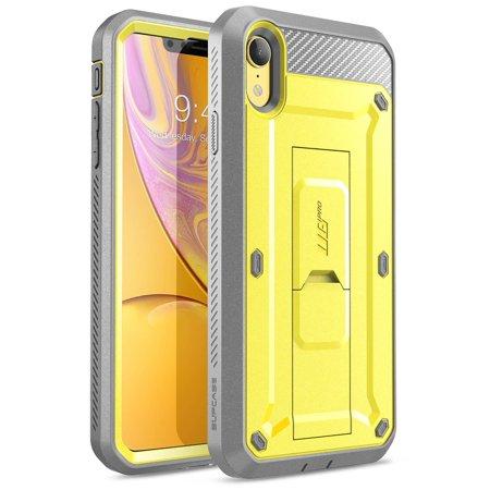 sneakers for cheap 04c01 f8e8a iPhone XR Case, SUPCASE Full-Body Rugged Holster Case with Built-in Screen  Protector for Apple iPhone XR (2018 Release), Unicorn Beetle Pro Series ...