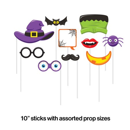 College Halloween Party Photos (Halloween Photo Booth Props, 10)