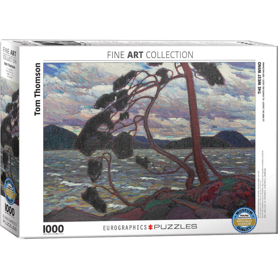 The West Wind by Tom Thomson 1000-Piece Puzzle