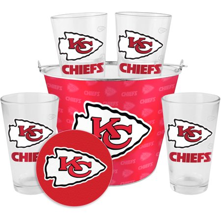 Boelter Brands NFL Gift Bucket Set, Kansas City Chiefs by