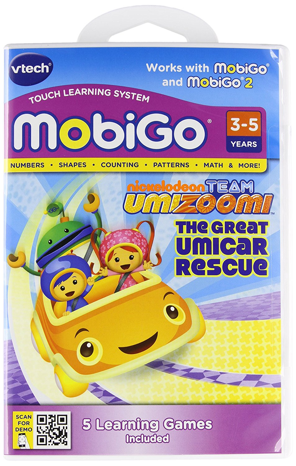 MobiGo Software Cartridge Team UmizoomiExtra math missions are unlocked in the bonus game... by