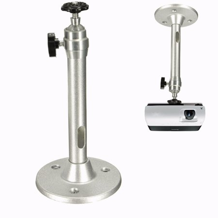 Portable Aluminium Alloy 360° Rotating Wall Ceiling Mini LCD DLP Projector Mount Bracket Projection Stand