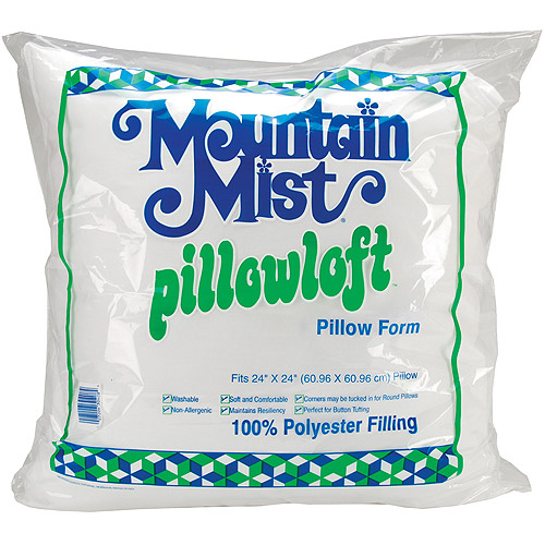 "Mountain Mist Pillowloft Pillow Form, 24"" x 24"""
