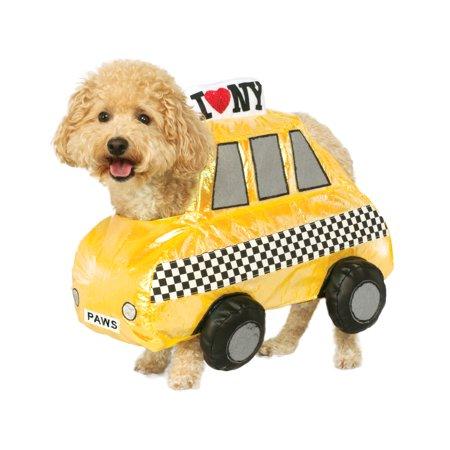 I Love New York Pet Dog Cat Yellow Taxi Cab Halloween Costume