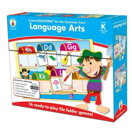 Language Arts File Folder Game  Grade K  File Folder Games