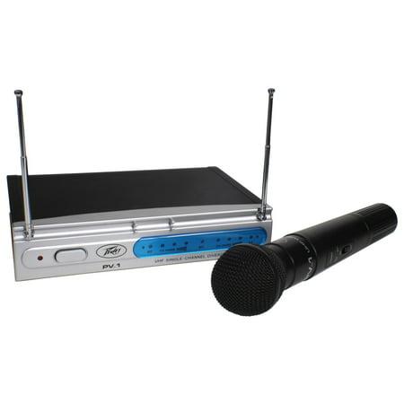 - Peavey PV-1 U1 HH 911.700MHZ Uhf Hand Held Single Ch Diversity Wireless 3010150