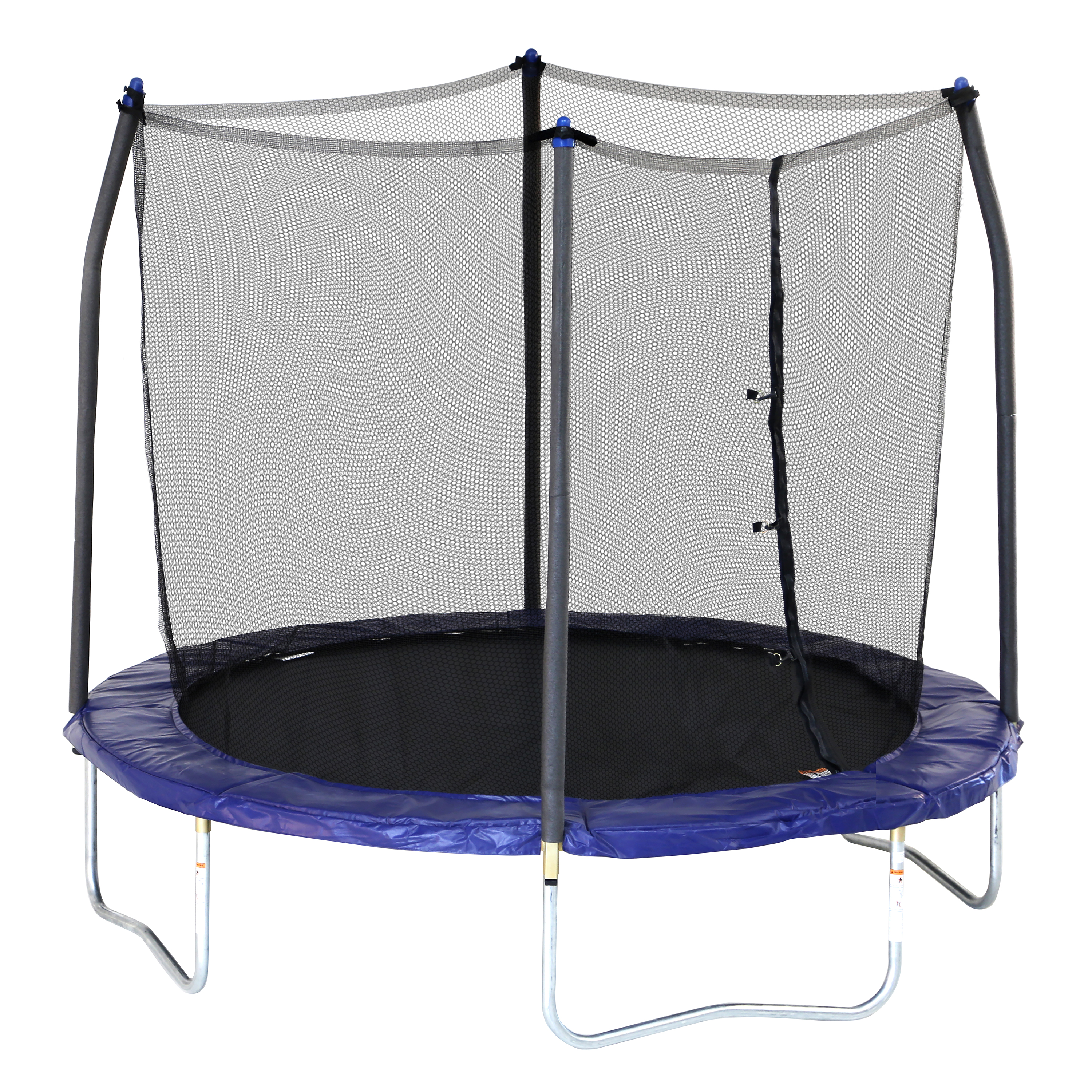 Skywalker Trampolines 8' Round Trampoline with Enclosure - Blue