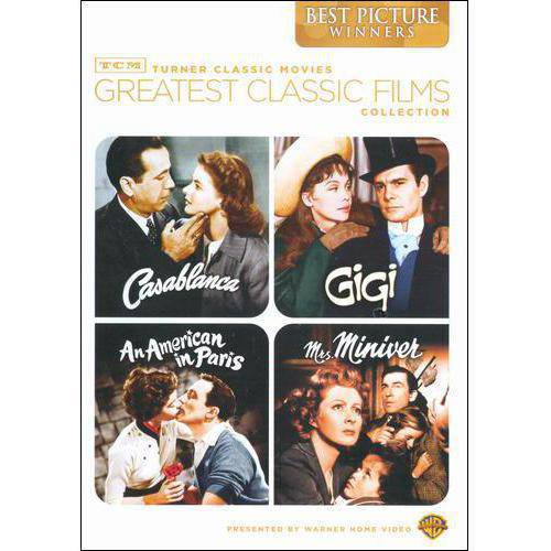 TCM Greatest Classic Films: Best Picture Winners - Casablanca / Mrs. Miniver / Gigi / An American In Paris