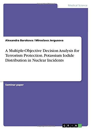 A Multiple-Objective Decision Analysis for Terrorism Protection. Potassium Iodide Distribution in Nuclear Incidents by