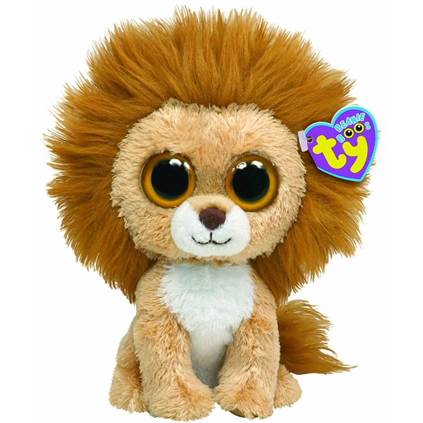 King the Lion, Authentic Ty Beanie Boo's Collection By Ty Beanie Boos Ship  from US - Walmart.com - Walmart.com