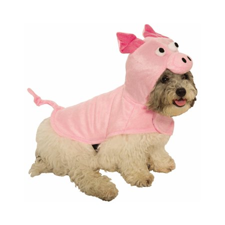 Wolf Dog Halloween Costume (Piggy Pink Pet Cute Farm Animal Cat Dog Halloween)