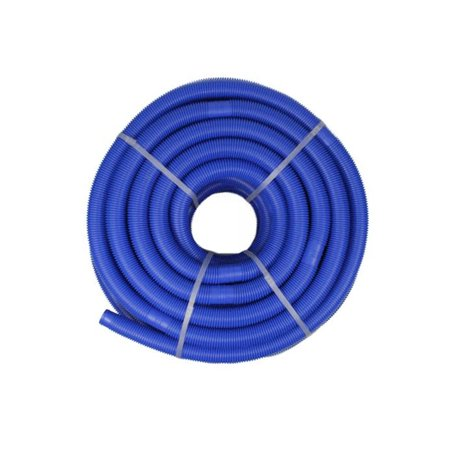 Blue Blow-Molded PE In-Ground Swimming Pool Cuttable Vacuum Hose - 147.5' x 1.25 -  Pool Central, 0009342210432