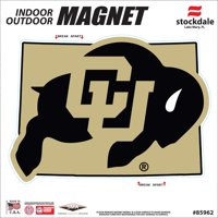 "Colorado Buffaloes 6"" x 6"" State Shape Car Magnet - No Size"