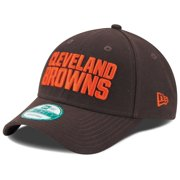 Cleveland Browns New Era Youth League 9FORTY Adjustable Hat - Brown - OSFA