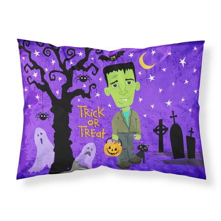 Halloween Frankie Frankenstein Fabric Standard Pillowcase VHA3021PILLOWCASE
