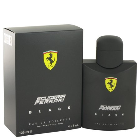 Ferrari Ferrari Scuderia Black Eau De Toilette Spray for Men 4.2 (Who Made Ferrari)