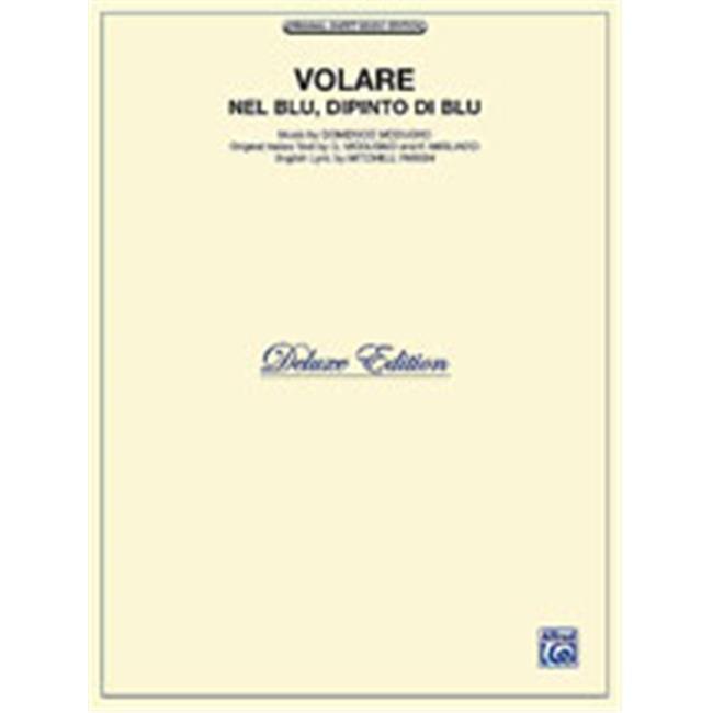 Alfred 00-T5225VPV Volare Nel Blue, Dipinto Di Blu Deluxe Edition by Alfred