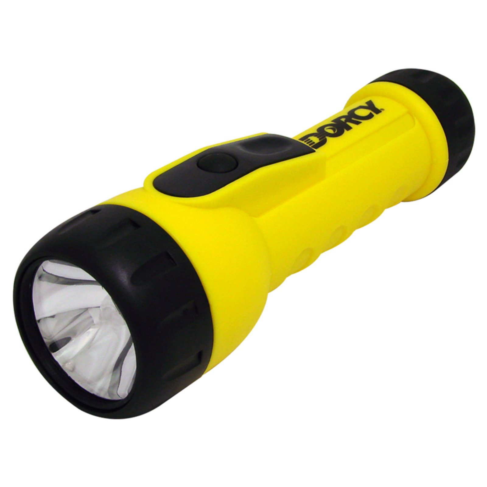 Dorcy 41-2350 Weather Resistant LED Worklight Flashlight with Batteries, 20 lumens