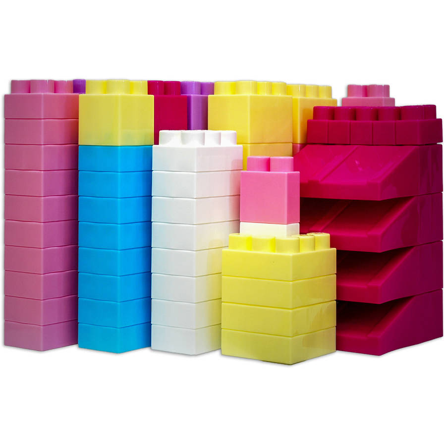 Mighty Big Blocks 100pc Set, Assorted Sizes by Grand Forward