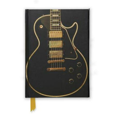 Gibson Les Paul Black Guitar (Foiled Journal) - Gibson Les Paul Handbook