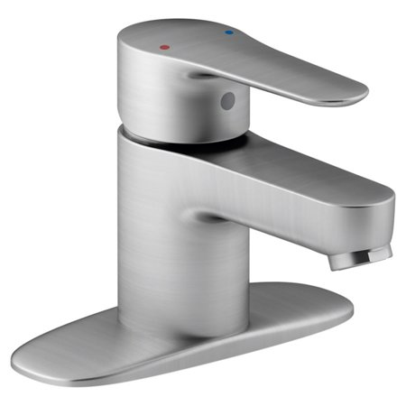 Kohler July Single-Handle Bathroom Sink Faucet with Escutcheon