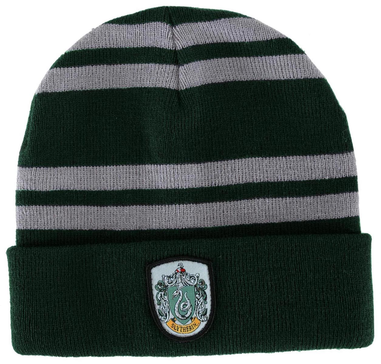 Harry Potter Slytherin House Knit Hat Costume Beanie Adult