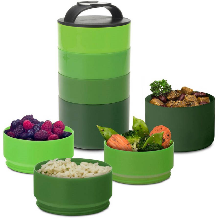Smart Planet Portion Perfect Stackable Meal Tower
