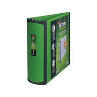 Staples Better 3-Inch D 3-Ring View Binder Green (19936) 892167