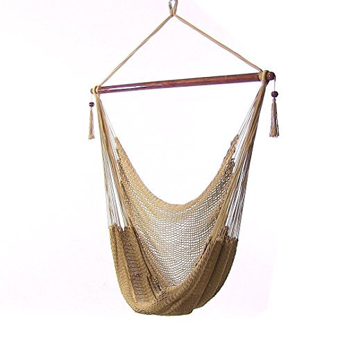 Merveilleux Hammock Chair Hanging Rope Chair Porch Swing Outdoor Chairs Lounge Camp  Seat At Patio Lawn Garden