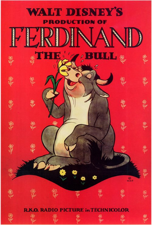 Ferdinand the Bull (1938) 27x40 Movie Poster by Pop Culture Graphics