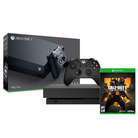 Microsoft Xbox One X 1TB Console + Call of Duty: Black Ops