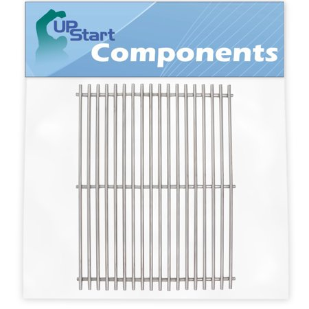BBQ Grill Cooking Grates Replacement Parts for Kenmore 720-0341 - Compatible Barbeque Stainless Steel Grid 17""